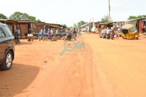 Baba Ode Bus stop, along Atan expressway, Ota Ogun State
