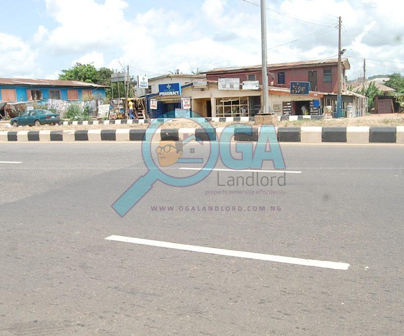 Access roads at Olorunsogo in Abeokuta, Ogun State