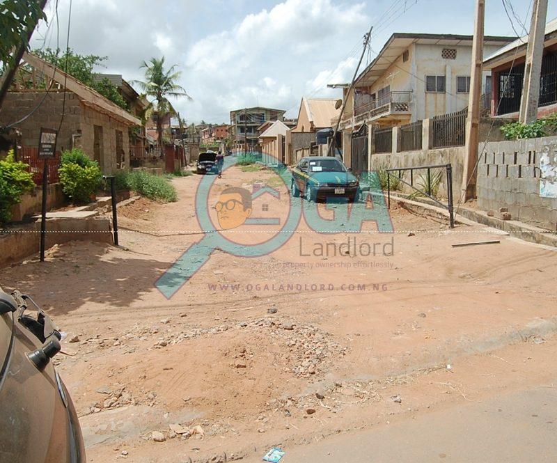 Olorunsogo Bus stop in Abeokuta, Ogun State