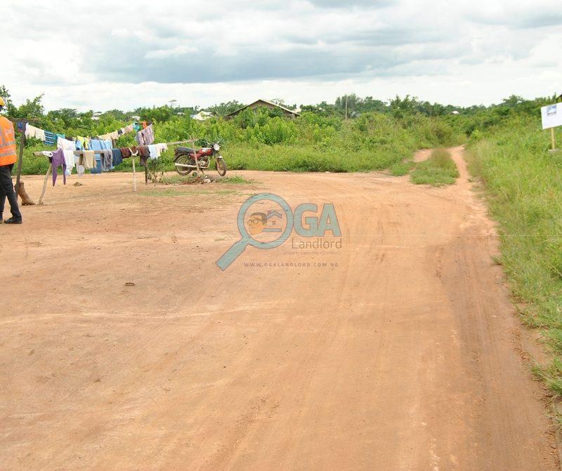 Access roads at Mosa, Ota Ogun State