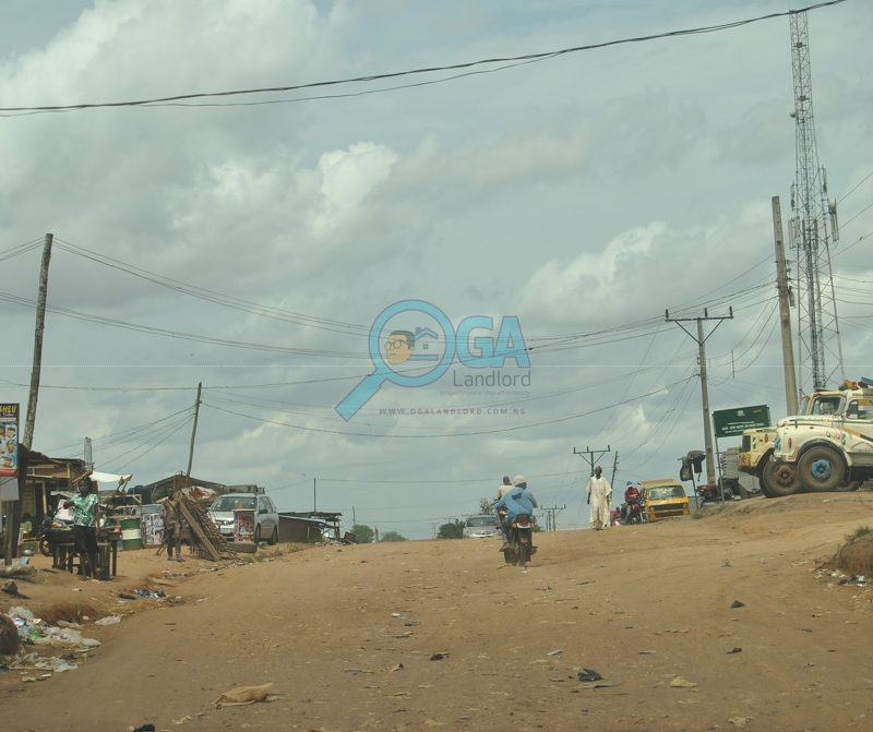 Access roads at Araromi, Ota Ogun State