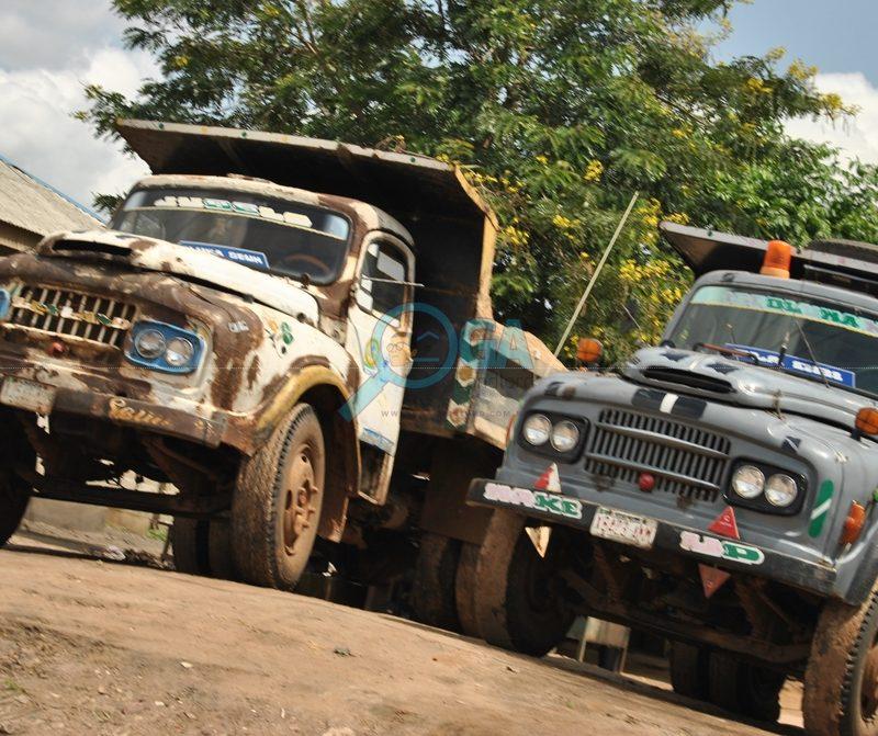 Tipper Garage_Landmarks at Araromi, Ota Ogun State