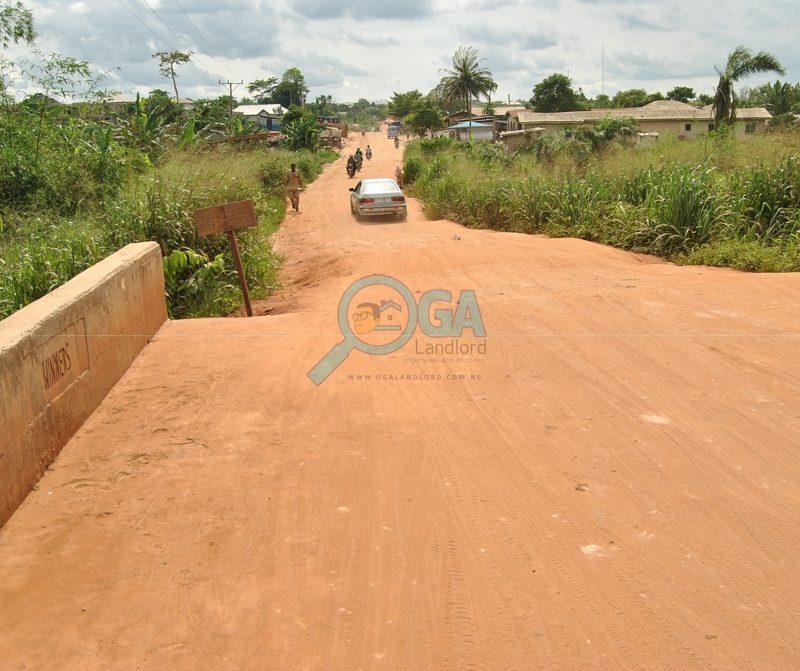 Winners Bridge along Ilogbo road, Ota Ogun State