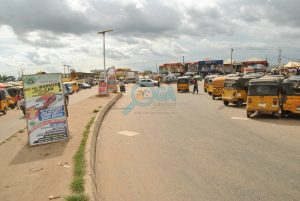 Ojuore Bus stop, Ota Ogun State