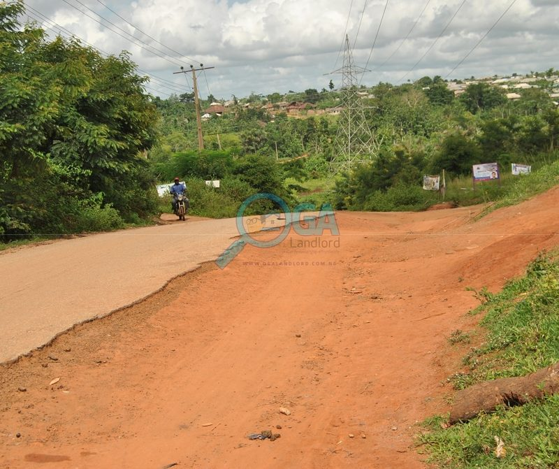 Access roads at Mosa, Ota Ogun State