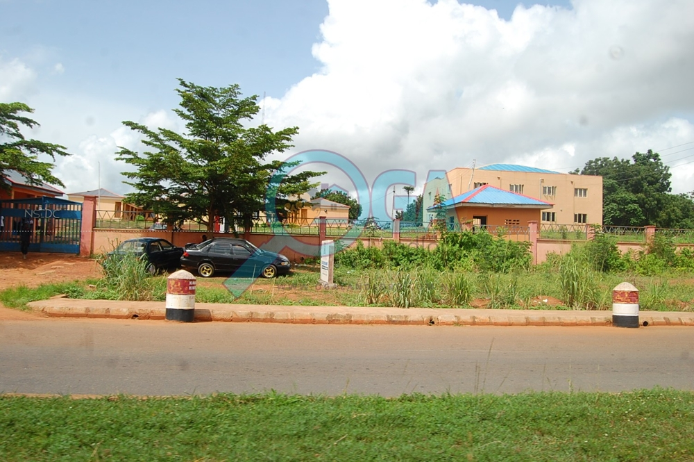 NSDC Office -Landmarks at Oke Mosan, near Abeokuta Golf Club, Ogun State