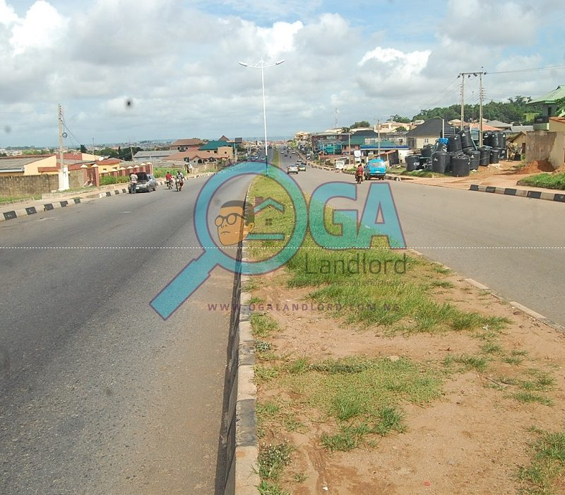 Olabisi Onabanjo Way at Kemta Idi-Aba in Abeokuta, Ogun State