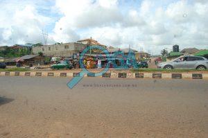 Olokuta Bus stop at Kemta Idi-Aba in Abeokuta, Ogun State