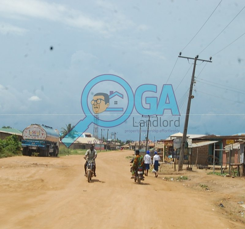 Access Roads at Orimerunmu, Near Ibafo, Ogun State