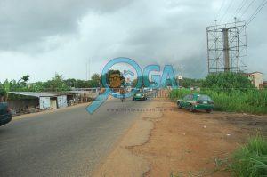 Ashero Road in Abeokuta, Ogun State