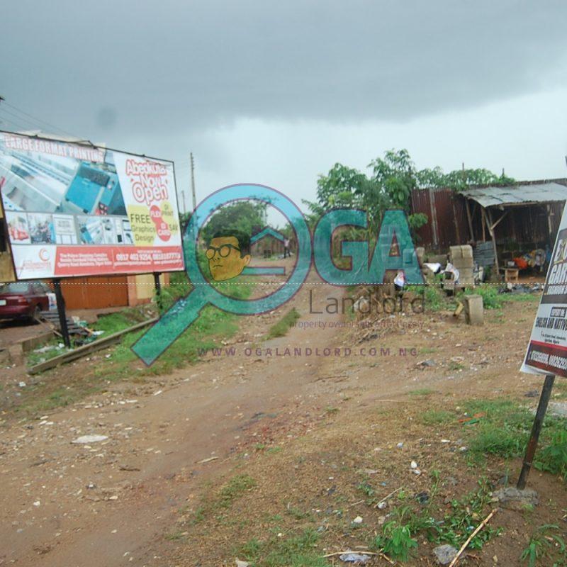 Access roads at Quarry in Abeokuta, Ogun State