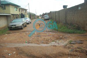Neighbourhood at Olowu in Abeokuta, Ogun State