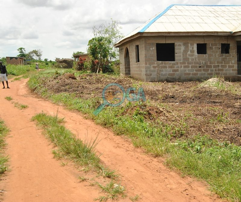 Neighbourhood at Adefarasin in Ota, Ogun State