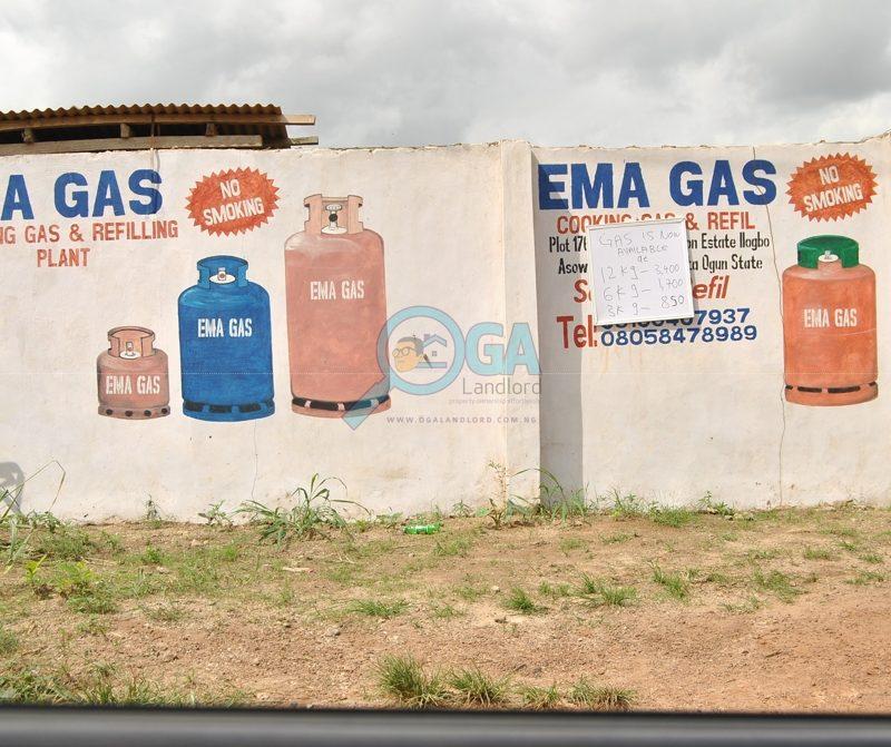 Ema gas_Landmarks_Ilogbo in Ota, Ogun State