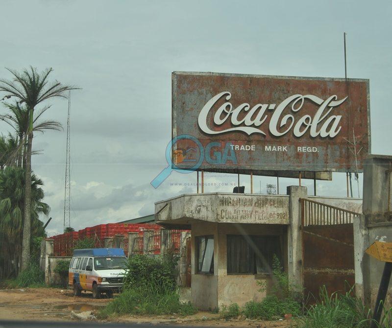 Coca Cola Plant_Landmarks_Ilogbo in Ota, Ogun State