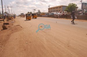 Iyana The Bells - Bus Stop at Adefarasin in Ota, Ogun State