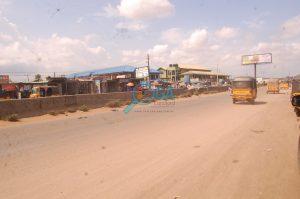 Iyana The Bells - Bus Stop at Adefarasin in Ota, Ogun State