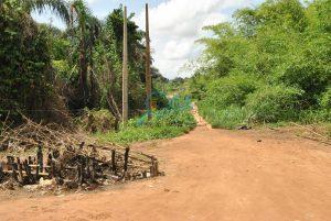 Local foot bridge - Landmarks at Adefarasin in Ota, Ogun State 1