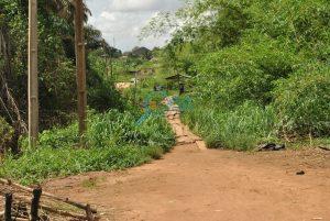 Local foot bridge - Landmarks at Adefarasin in Ota, Ogun State