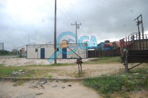 Abijo Skyteam Bus stop at Logic Palms Estate Near Novare Shoprite in Abijo, Ajah, Lagos State