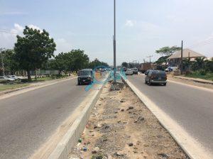 Access roads at Logic Palms Estate Near Novare Shoprite in Abijo, Ajah, Lagos State