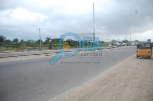 Access roads at Logic Palms Estate Near Novare Shoprite in Abijo, Ajah, Lagos State