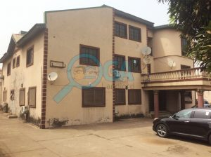A Storey Building with 4 Units of 3 Bedrooms Flat For Sale at Shangisha Magodo, Lagos State